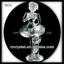 K9 hübsches klares Kristallmädchen als Geschenk