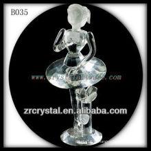 K9 Pretty Clear Crystal Girl como presente