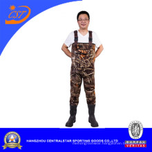 Camo Neoprene Chest Fishing Waders