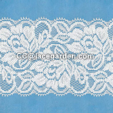 Decorated Tricot Lace