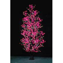 Simulation de LED arbre lila