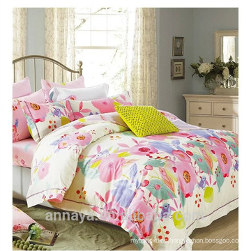 Flower piano designs bedding set duvet cover set home textile cotton reactive print