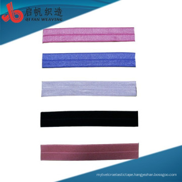 Factory Customizes New Arriaval Eco-friendly Okeo-Tex printed fold over elastic