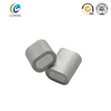 Oval cable steel ferrule