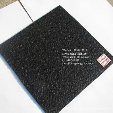 Material em HDPE com Geomembrana de Superfície Texturizada para Aterro de Lixo