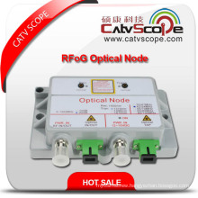 Professional Supplier High Performance CATV FTTH Rrog Mini Optical Node/Receiver