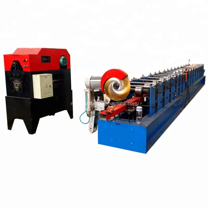 Jerman Kualiti Air Gutter Roll Forming Machine