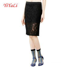 Women Fashion Lace Slim Skirts