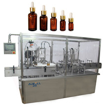 Automatic Olive Oil Vial Bottle Filling Capping Machine