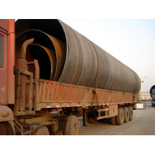 EN10219 Spiral Ssaw Steel Pipe