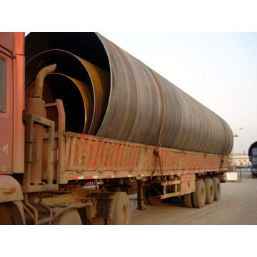 China Factory for for Big Diameter SSAW Steel Pipe Q345/Q235 SSAW large diameter spiral steel pipe on sale supply to Greenland Manufacturer