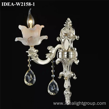 modern wall sconce crystal decorative light