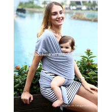 Atmungsaktive und dehnbare Stoff Baby Schlinge kostengünstige Baby Wicklung mit günstigen Preis