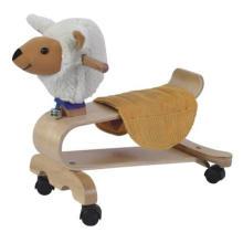 Детский деревянный игрушечный верховой велосипед