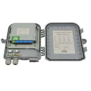 Outdoor 8 Port  Fiber Optic Termination Box