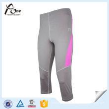 Mädchen Fitness tragen Kompression benutzerdefinierte 3/4 Yoga Hosen