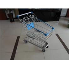 Lebensmittelgeschäft Metall Supermarkt Einkaufswagen Trolley