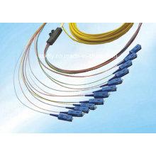 Venta caliente de alta precisión bajo precio multimodo OEM OM3 Sc fibra óptica coleta