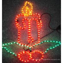 Vela para la decoración de la noche Motif Light