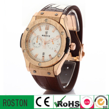 Business Men Wrist Watch with Pointer Quartz