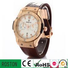 Business Men Wrist Watch with Pointer Quartz