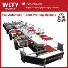 WTKY Series Full Automatic Oval Textile Printing Machine