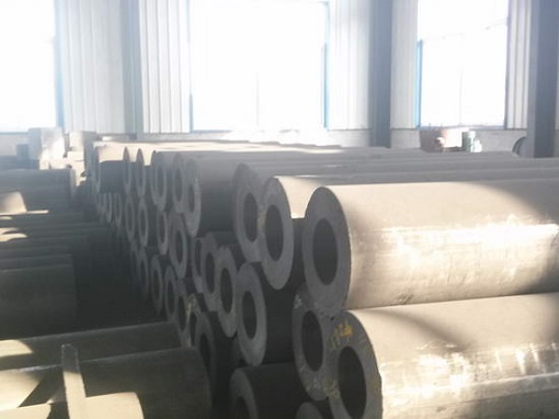 Graphite electrode for steel making