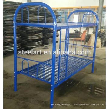 60 дюймов королева Размер двухъярусная кровать стальной каркас