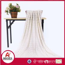 High quality cheap price acrylic knitted crochet blanket