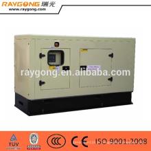 gerador diesel silencioso ajustado pelo bom preço do motor de quanchai