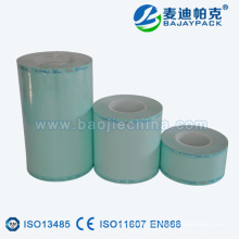 Termosellado desechable Artículos de uso peluquería esterilización papel-tubo de plástico