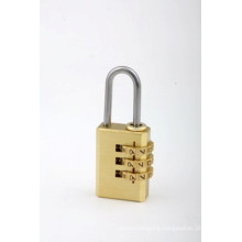 Security Full Brass Code Padlock