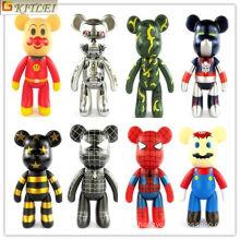 2016 Hot Sale Lovely Pequenas Figuras De Plástico Brinquedos