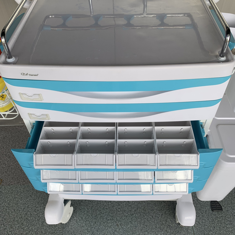 Medical Artistic Medicine Trolley Cart