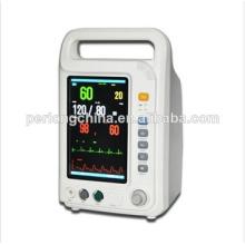 Instrumento médico del monitor de la señal vital portátil de la venta caliente