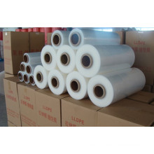 Transparent de 17 microns LLDPE Stretch Film