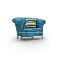 Pós-moderna casa de madeira tecido único sofá (LS-107A-A)