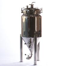 Fermenter conique à ventouse en acier inoxydable avec jambes