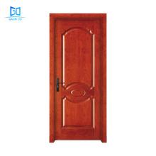 Hotel Room Entry Doors Wooden Single Door Designs Moulded Door GO-PG