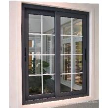Fenêtre coulissante en aluminium de preuve saine avec la norme internationale