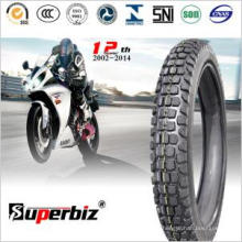 2015 caliente neumático sin tubo (100/80-18) de la motocicleta para la motocicleta