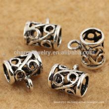 La plata esterlina barata al por mayor que hace que abre el encanto hueco del estilo encanta SEF019