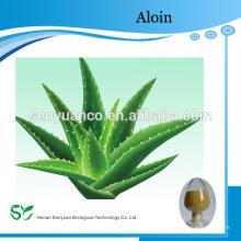 Extrait de feuille d'aloe vera Gel à la poudre séchée 100: 1 200: 1 Aloin 10% 20% 30%