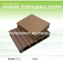 Plancher de bois de HDPE