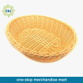 Empty Wicker Storage Basket