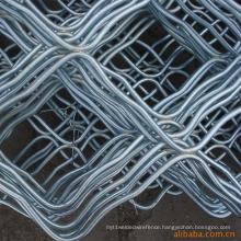 Hot-Dipped Galvanized Beautiful Grid Wire Mesh