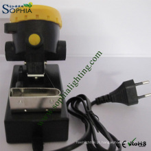 Farol LED com Bateria Recarregável 18650 Lítio