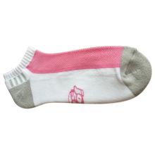 Damen Baumwollkissen Farbe Mesh Sport Socken