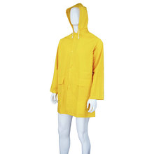 Cheap price for Disposable Rainwear PVC Long Work Raincoat Gown supply to Comoros Suppliers