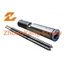 Paralleler Doppelschneckenzylinder PVC-Granulat Extrusionsschneckenzylinder